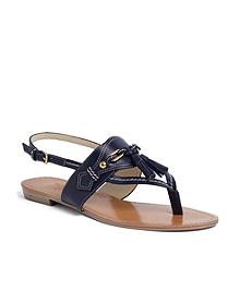 Spectator Calfskin Sandal