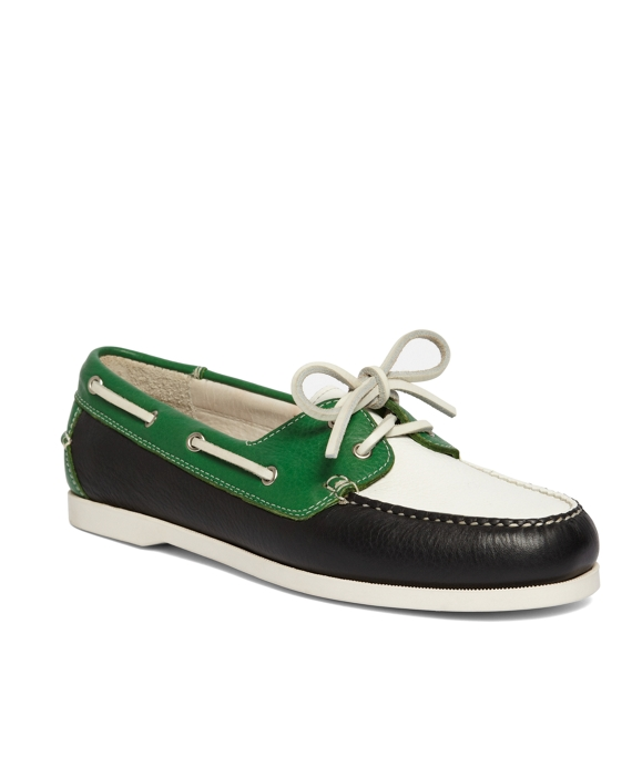 Green-Navy-White