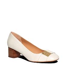 Calfskin Low Heels