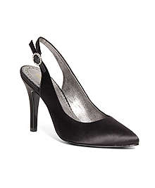 Satin Slingbacks
