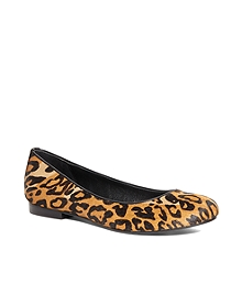 Haircalf Leopard Flats