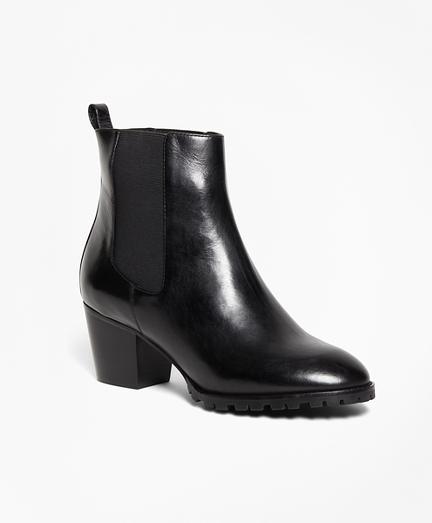 Short Lug Sole Boots