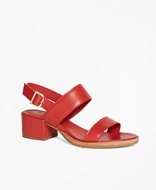 Low Open-Toe Sandal