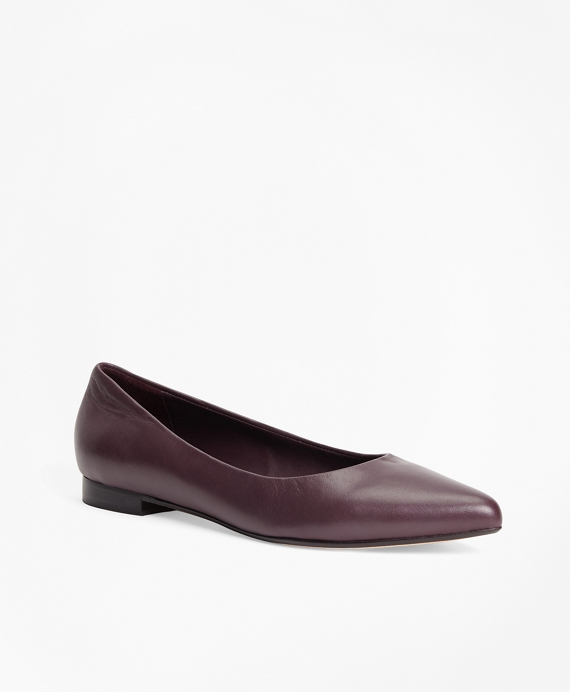 Nappa Leather Flats