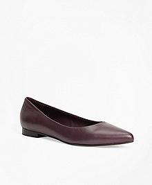 Nappa Leather Flats