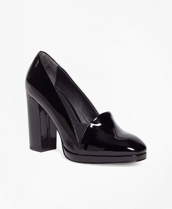 Patent Leather Pumps Black
