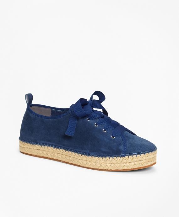 Suede Espadrille Sneakers