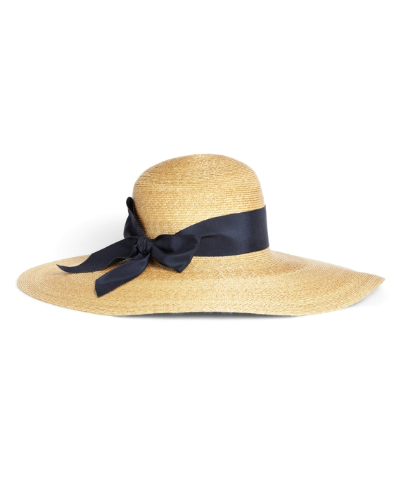 Milan Straw Portrait Hat Natural