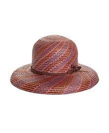 Multi Weave Panama Straw Hat