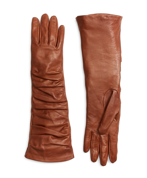 Leather Gloves Cognac
