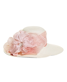 Flower Derby Hat
