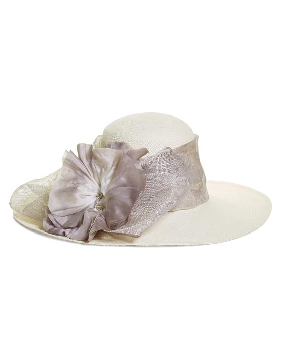 Flower Derby Hat Grey