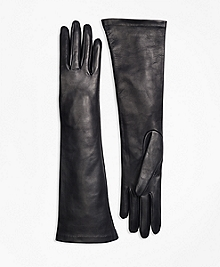 Silk Lined Leather Opera Gloves