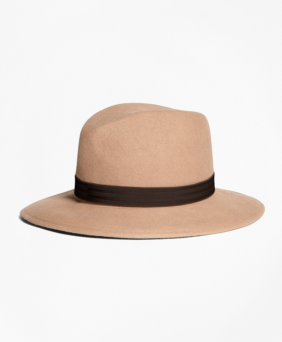 Foldable Fedora Tan