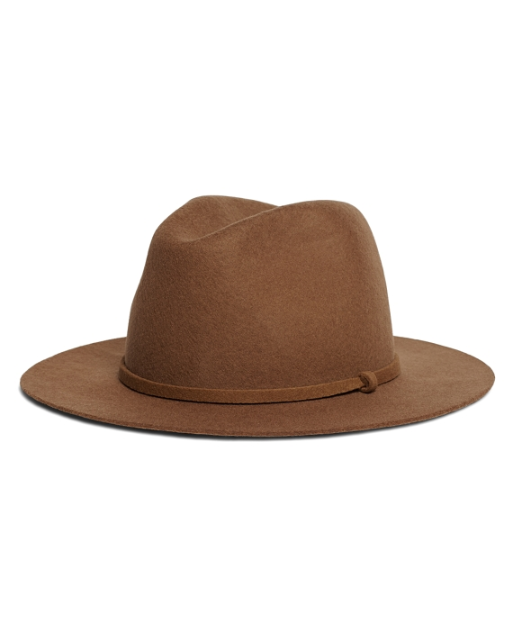 Wool Fedora Brown