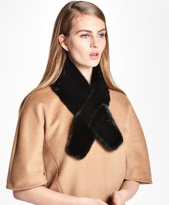 Mink Fur Ascot