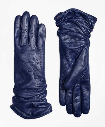 Short Leather Opera Gloves