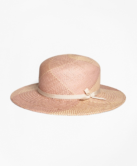 Pastel Straw Boater