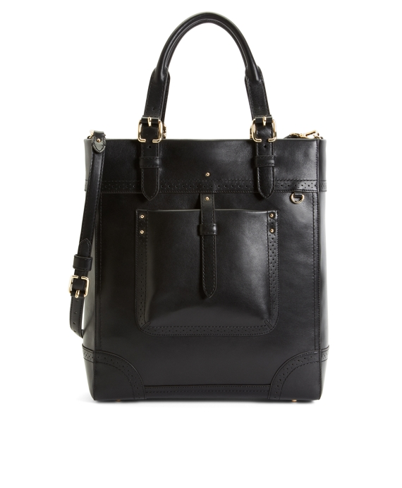 Calfskin Large Tote Black