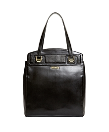 Exotic Embossed Calfskin Large Tote