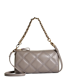 Quilted Calfskin Small Crossbody Bag