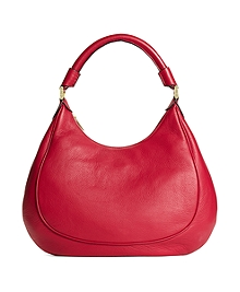 Medium Pebble Calfskin Hobo