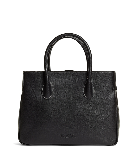 Leather Satchel Black
