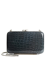 Swarovski Embossed Clutch