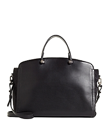 Medium Haircalf Gusset Satchel
