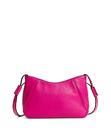 Pebble Calfskin Crossbody Bag