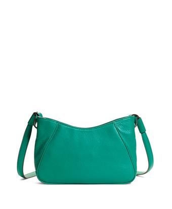 Pebble Calfskin Crossbody Bag