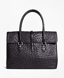 Ostrich Large Satchel