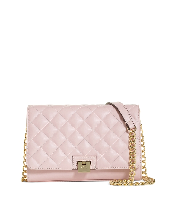 Pink Quilted Shoulder Bag 117