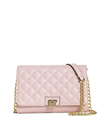 Quilted Leather Small Shoulder Bag