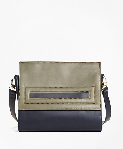 Bailey Color-Block Satchel