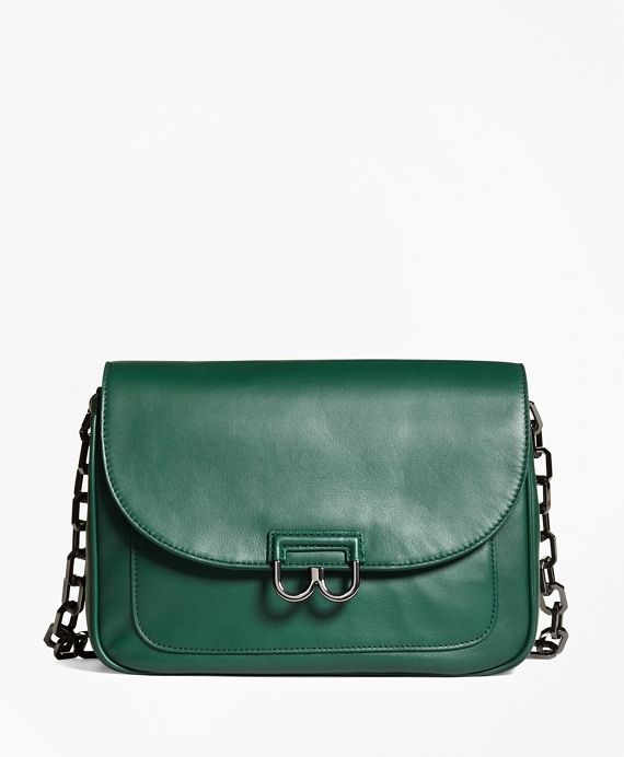 Nappa Leather Babe Shoulder Bag Dark Green
