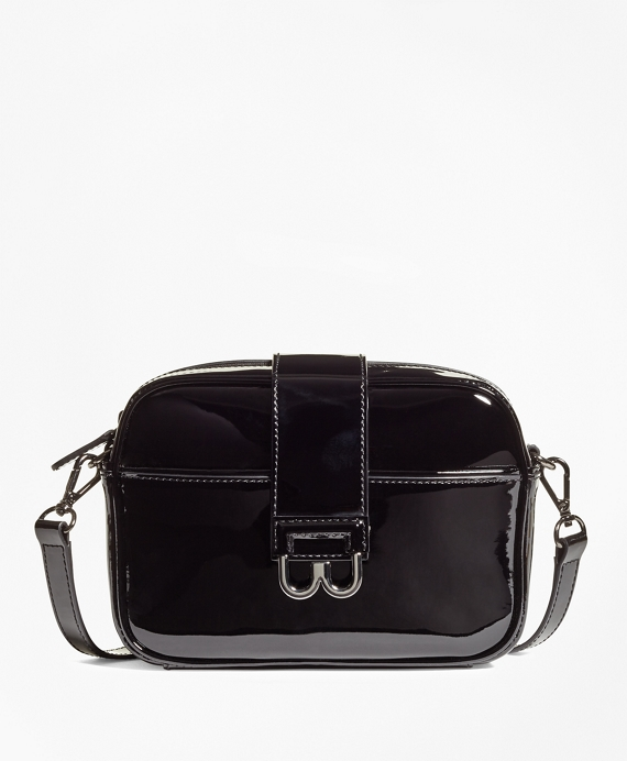 Patent Leather Bridget Crossbody Satchel