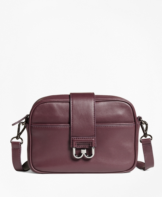 Leather Bridget Crossbody Satchel