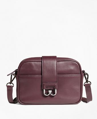 Leather Bridget Crossbody Satchel