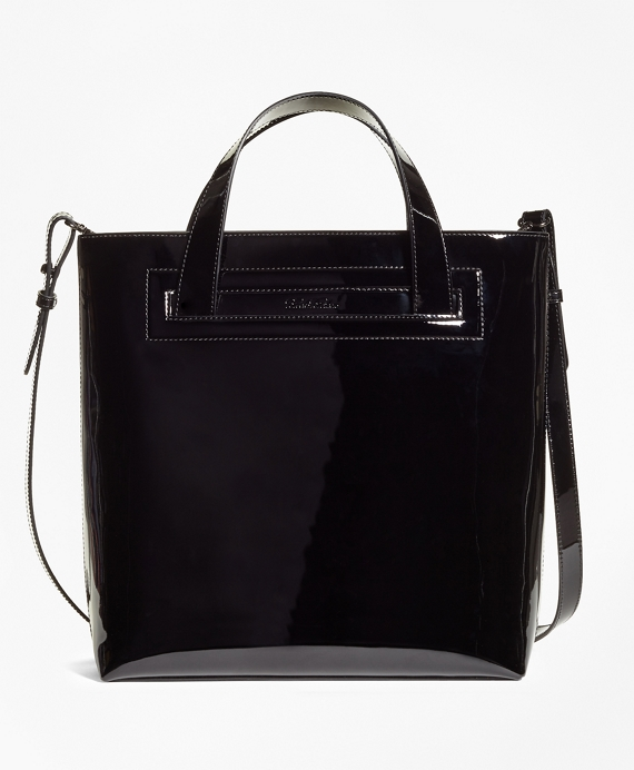 Patent Leather Sophie Tote