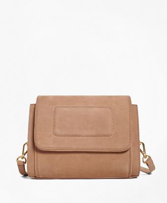 Nubuck Leather Bonnie Shoulder Bag