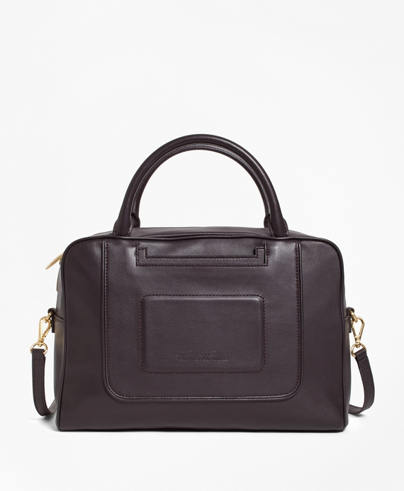 Calfskin Leather Betty Satchel