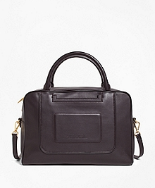 Calfskin Leather Betty Satchel