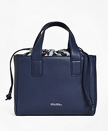 Leather Sharon Shopper Bag