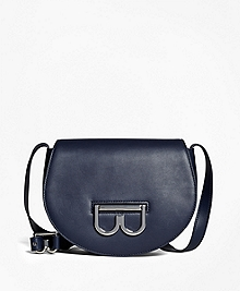 Leather Shana Crossbody Saddlebag