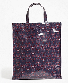 Water-Resistant Graphic Tote Bag