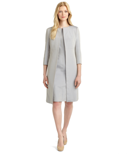 Three-Quarter Sleeve Duster Jacket
