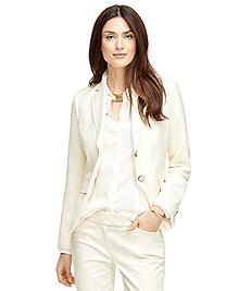Classic Fit Two-Button Wool Blend Jacket