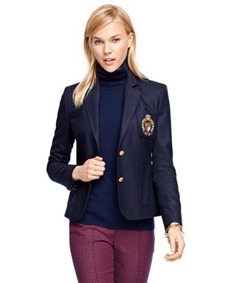 Stellita Fit Wool Flannel Jacket