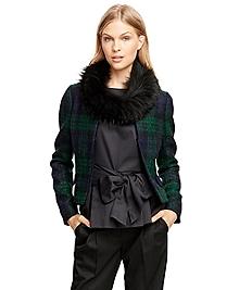 Wool Mohair Blend Jacket